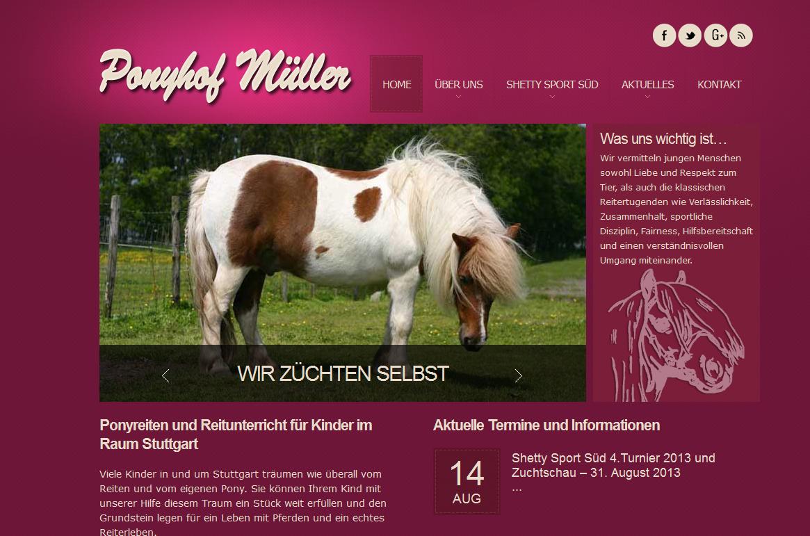 Ponyhof Müller Denkendorf