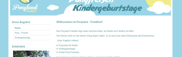 ponyland-frankfurt