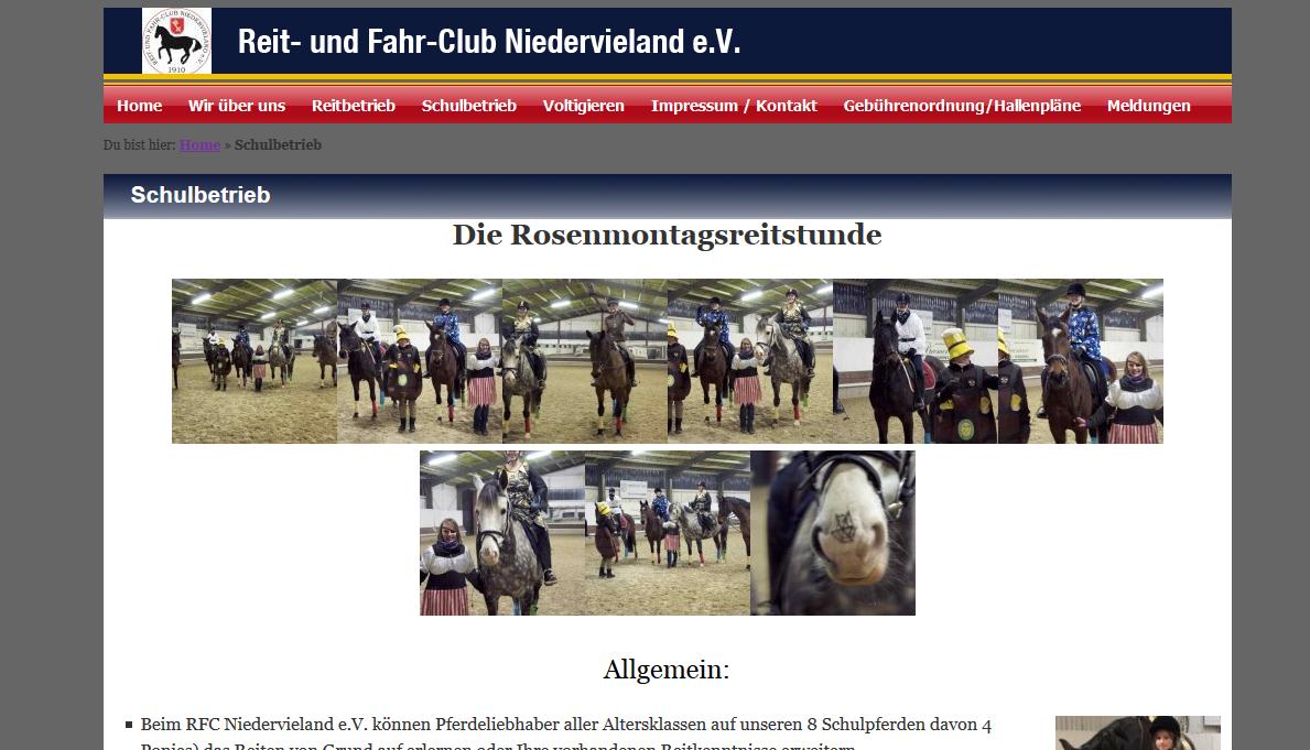 Reit und Fahrclub Niedervieland e.V. in Bremen