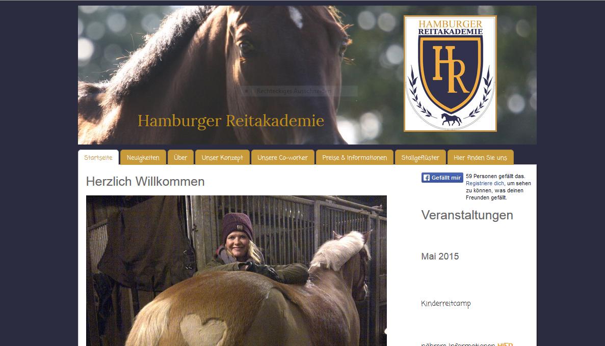 Hamburger Reitakademie für Kinder & Erwachsene