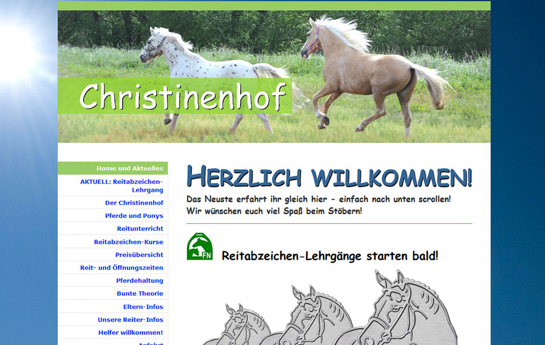 Reitschule Christinenhof Berlin